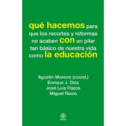 Libro: Qué hacemos con la educación