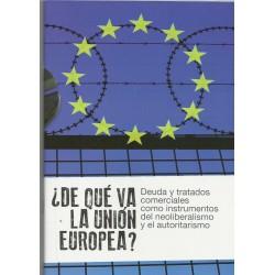 Cuaderno: ¿De qué va la UE?