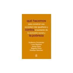 Libro: Qué hacemos contra la pobreza