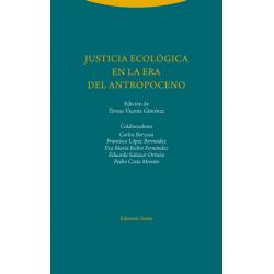 Libro: Justicia ecológica en la era del antropoceno