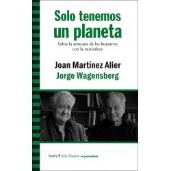 Libro: Solo tenemos un planeta