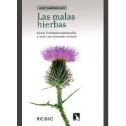 Libro: Las malas hierbas