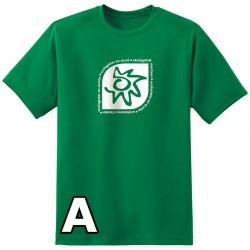 Camiseta verde Chcio Logo Ecologistas