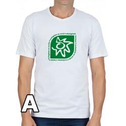 Camiseta blanca chico Logo Ecologistas